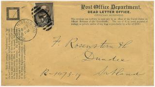 Dead-letter-return-scotland-universal-postal-union-rate