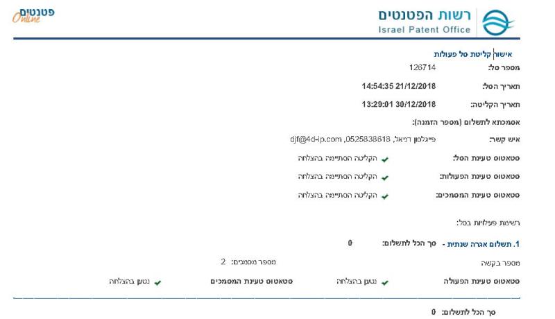 9 days to get ishur klitat sal