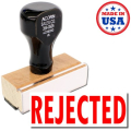 Rejection stamp