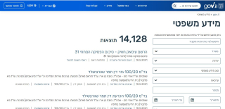Result of legal info link